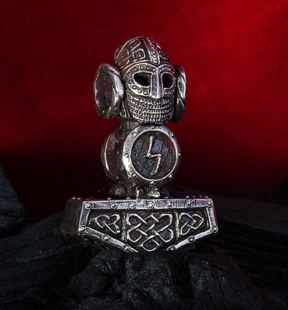Silver Handmade 0.85oz 24g THORS HAMMER by Thorshammerstore, $163.00