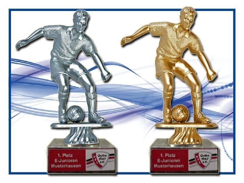 Pokale Fussball Figur Beschriftung P220 Ebay Sport
