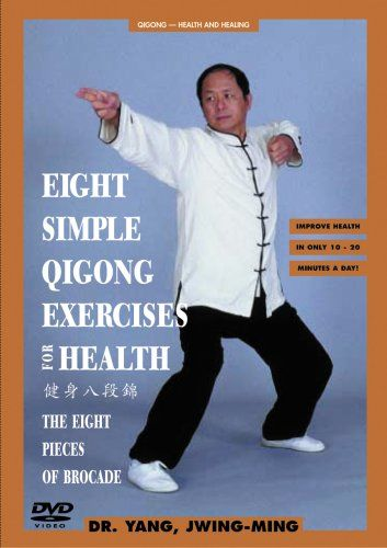 Perfect for beginners! In this bestselling video, Dr. Yang, Jwing-Ming instructs and demonstrates the most popular set of Chinese healing exercises, the Eight Brocades.   These gentle breathing, stretching and strengthening movements activate the Qi energy and blood circulation in your body, helping to stimulate your immune system, strengthen your internal organs, and give you abundant energy. With both a sitting and standing set, anyone can p...