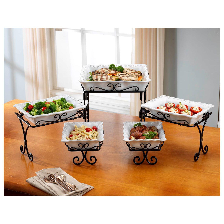 5 Tier Buffet Server Buffet Server Iron Furniture Iron Decor