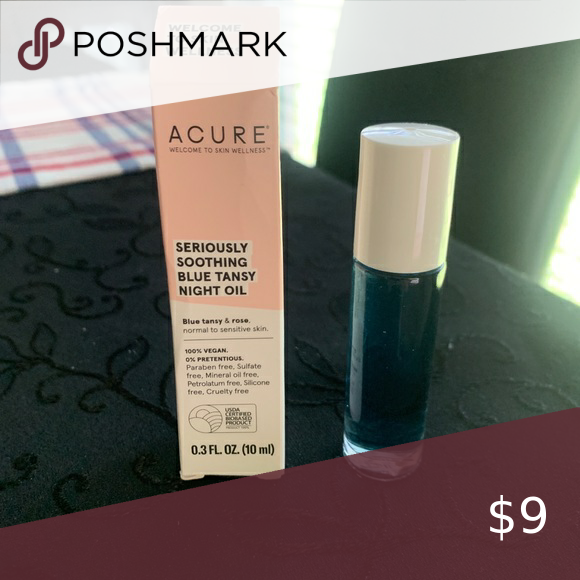 3/$15 Acure Blue Tansy Night Oil Roll On In 2020