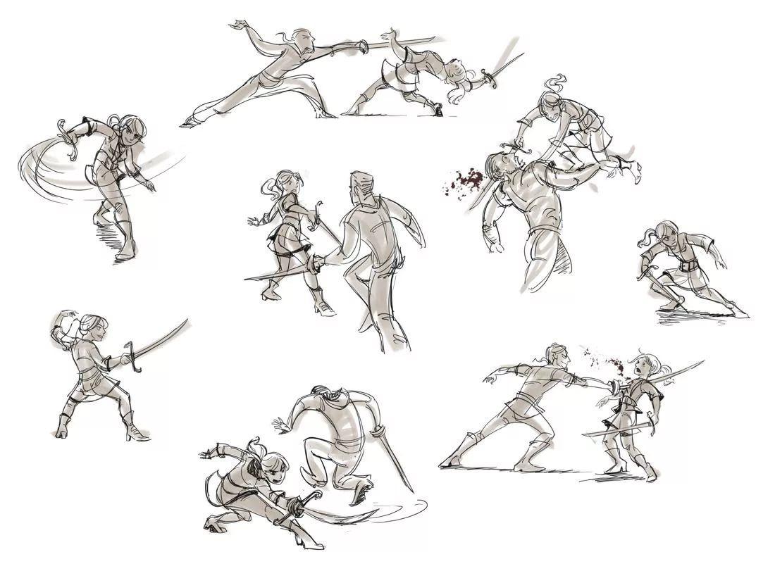 жить рисунки бои на мечах кресла