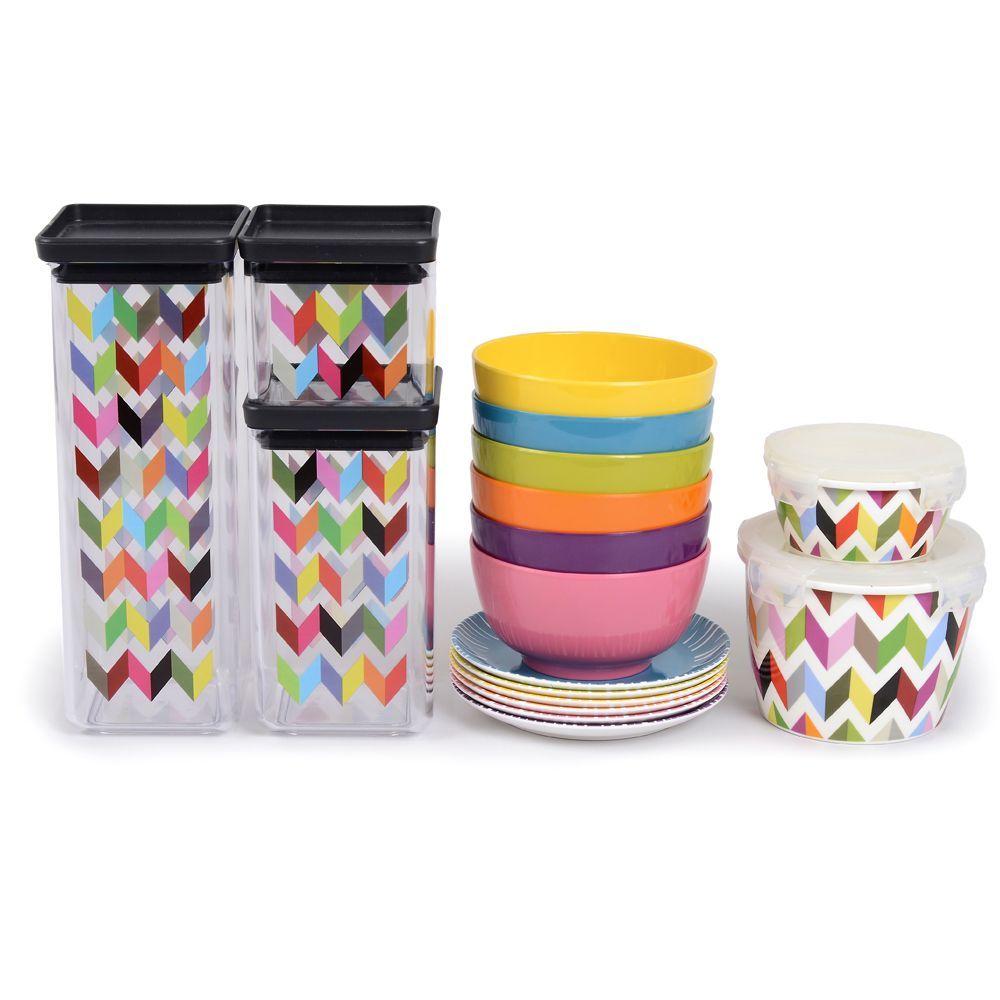 French Bull Ziggy Dry Food Storage Canisters Ziggy Porcelain Storage Containers Colorful Small Bowls Fringe Appetizer Plates. Brighten up your kitchen ...  sc 1 st  Pinterest & French Bull Ziggy Dry Food Storage Canisters Ziggy Porcelain ...