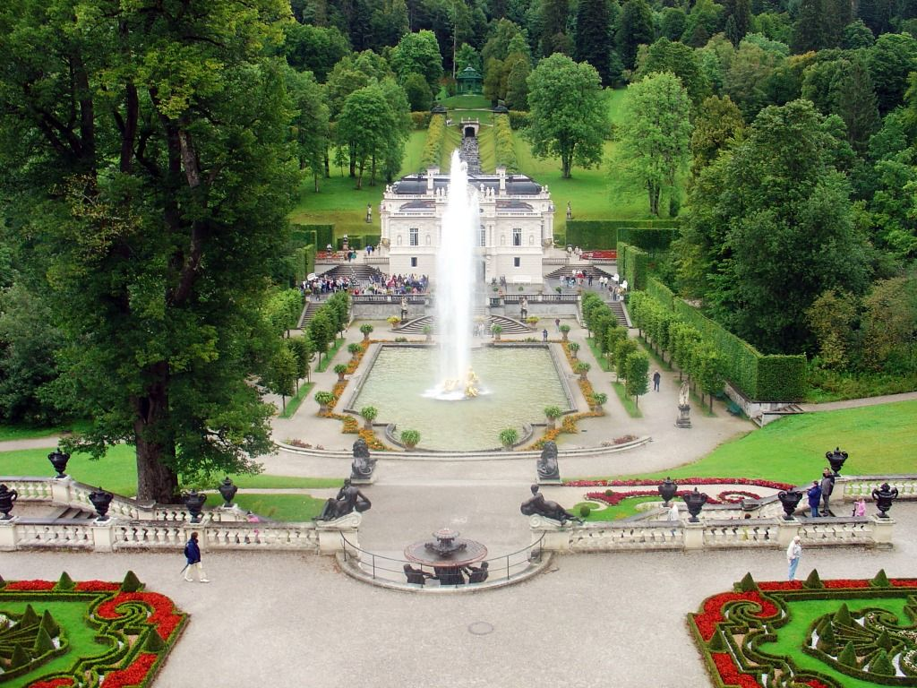 Schloss Linderhof Bavaria Germany Jigsaw Puzzle In Castles Puzzles On Thejigsawpuzzles Com Garmisch Partenkirchen Bavaria Germany