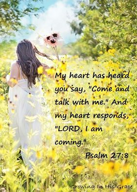 Image result for image of scripture Psalm 27:8