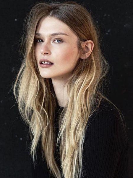 Frisuren 2017 Rausgewachsene Farbe Hairhairhair Pinterest