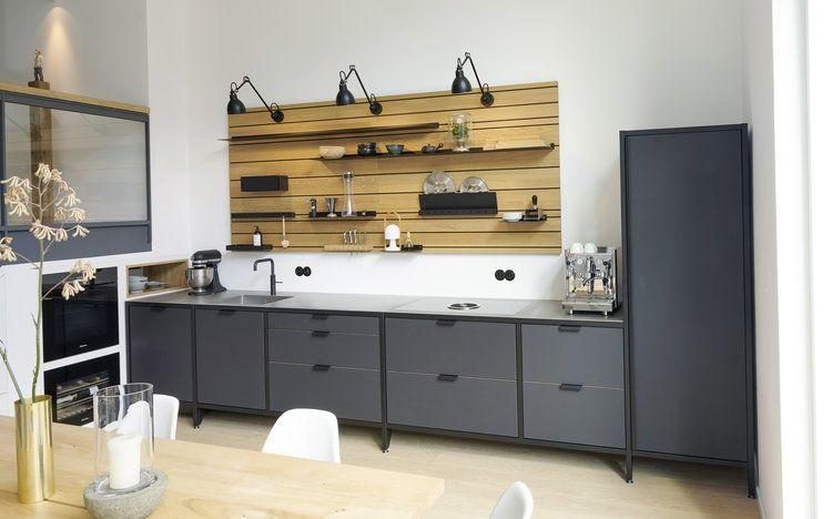 WERK Modulküche im Industrial Style — JAN CRAY Möbel und