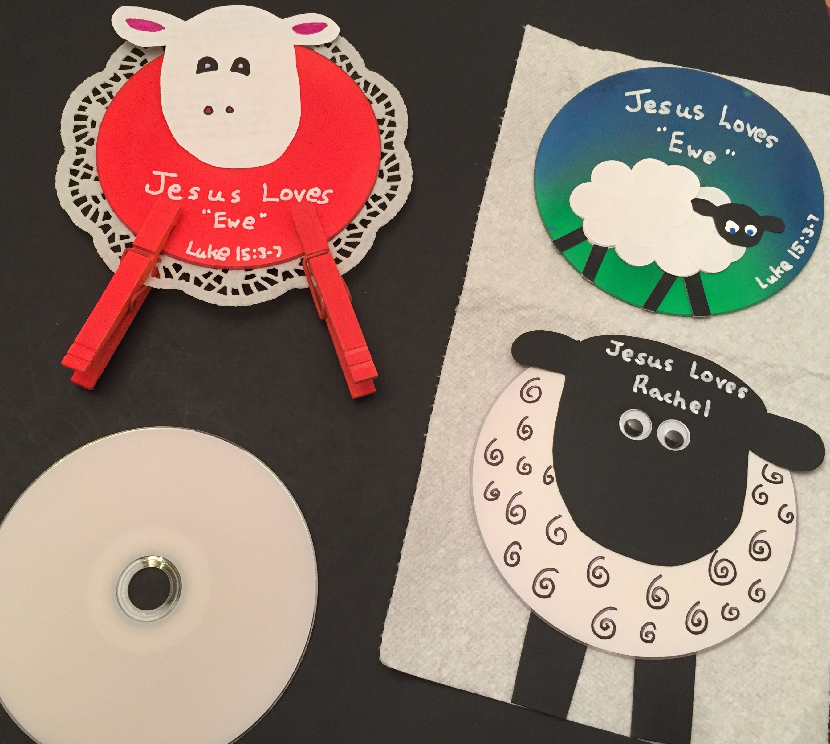 Pin On Recycled Cd Lost Sheep