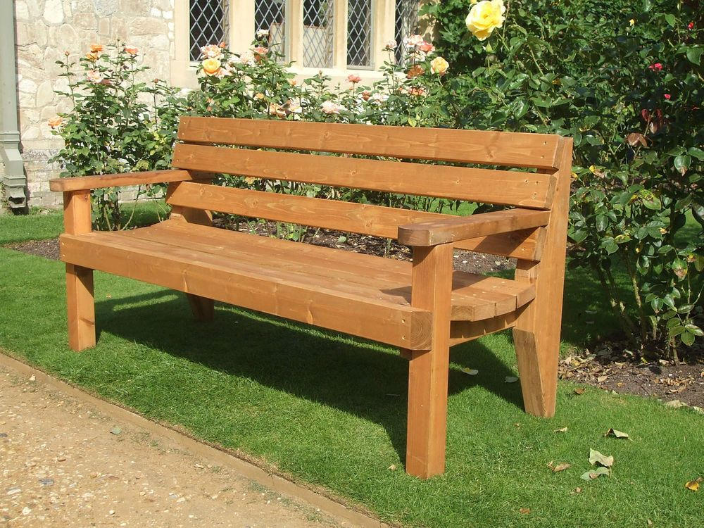 Details about Garden bench commercial grade Gardens Benches and Patio