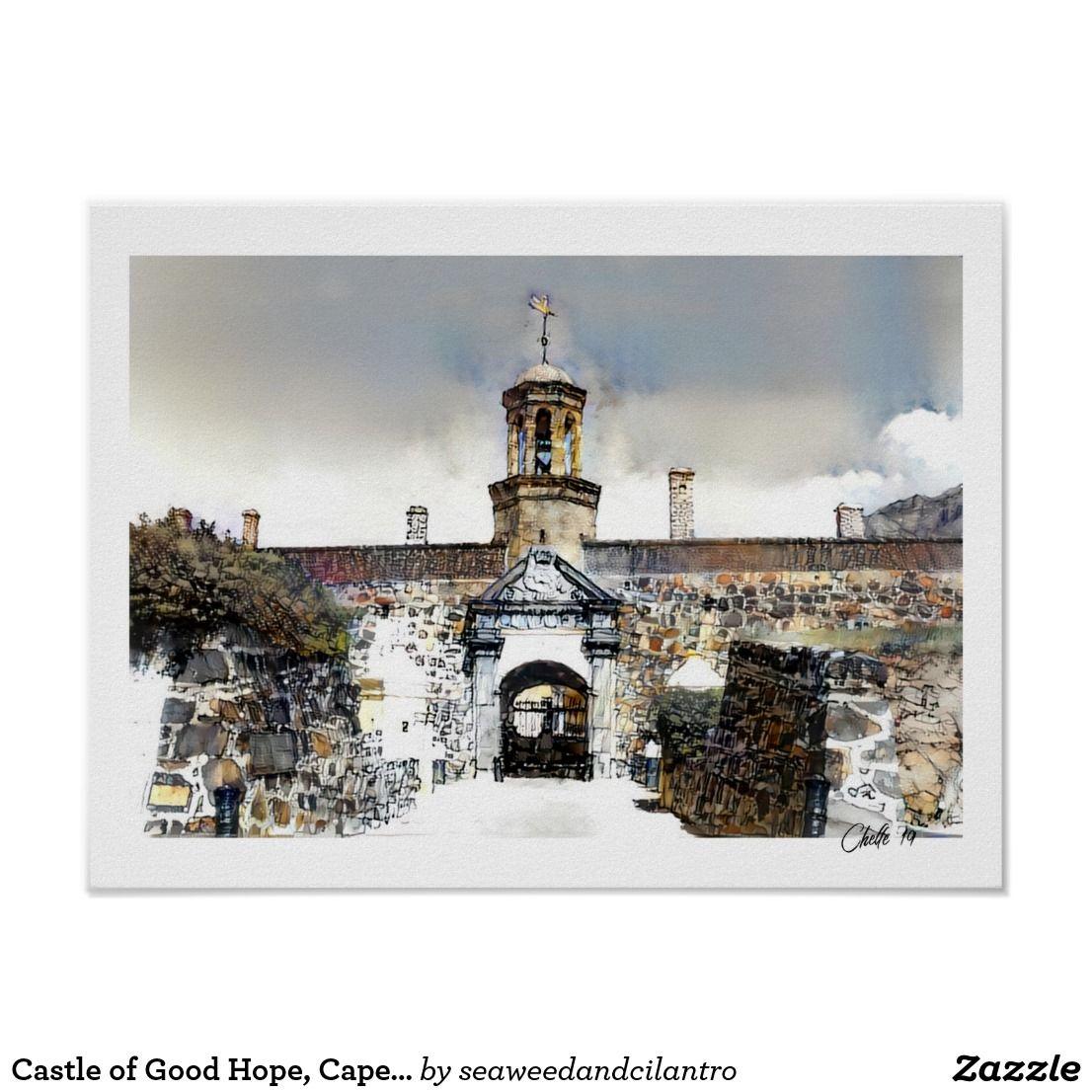 Castle of Good Hope, Cape Town Print
