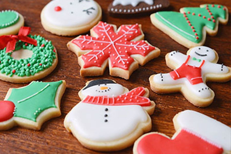 Easiest Christmas Cutout Cookie Recipe - No Chilling Required