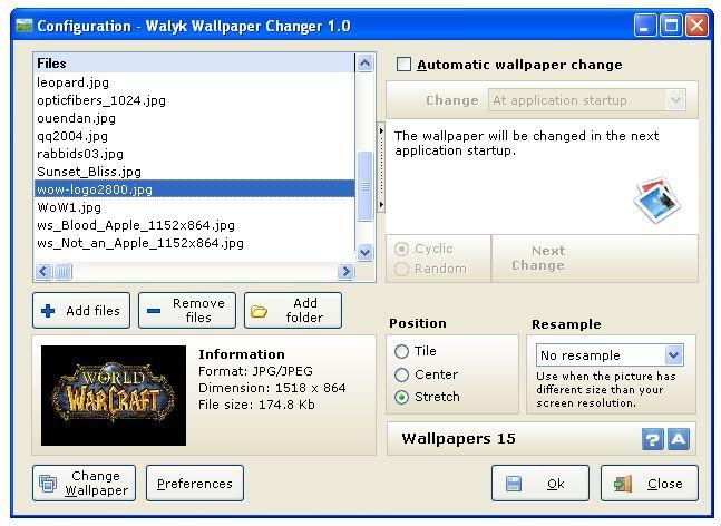 Automatic Desktop Wallpaper Changer Slideshow Pro