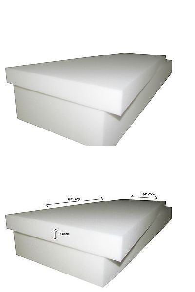 Styrofoam Forms 41200: Seat Cushion  High Density Foam 7 X30 X80 (1546)