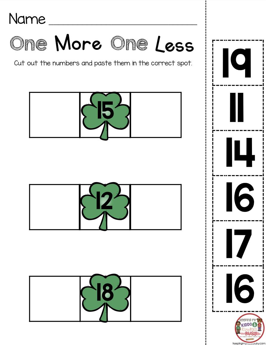 March Math Ela Kindergarten Pack No Prep Freebies Keeping My Kiddo Busy March Math Centers March Math Kindergarten Math Units [ 1156 x 892 Pixel ]