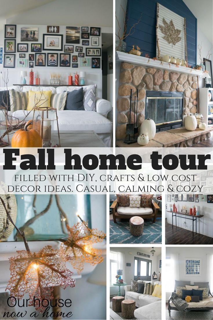 Fall Home Tour  Coastal Find Furniture And Budgeting Delectable Low Cost Living Room Design Ideas Design Decoration