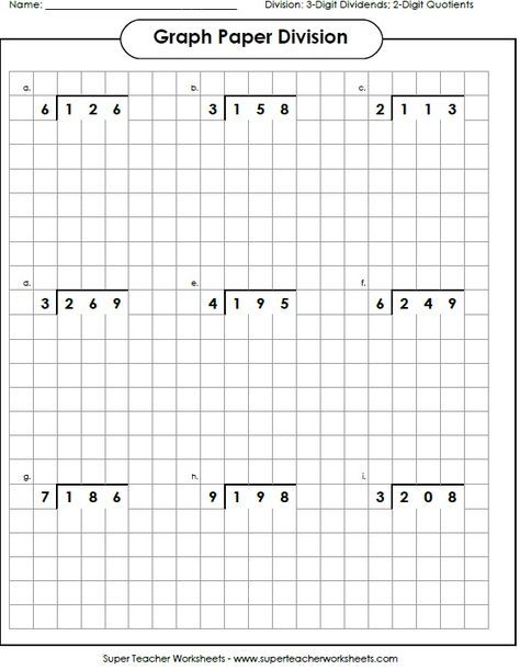 Division Worksheets Math 1 Pinterest Worksheets, Division - long multiplication worksheets