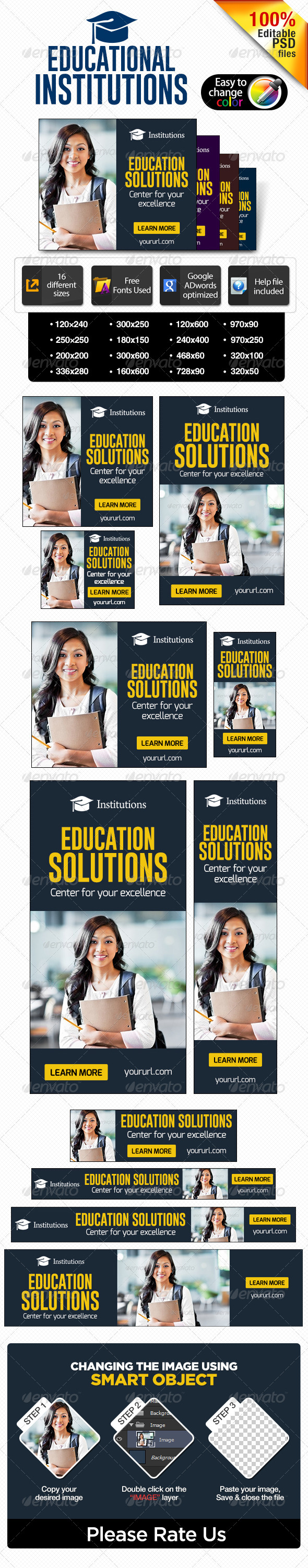 Educational Website Banners Education Indian Banners