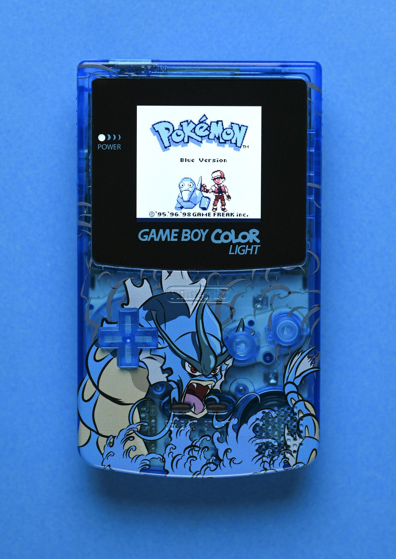 Custom Backlit Pokemon Gameboys Made By 8bitaesthetics Backlit Gameboys Backlit In 2020 Gameboy Color Pokemon Gameboy Pokemon