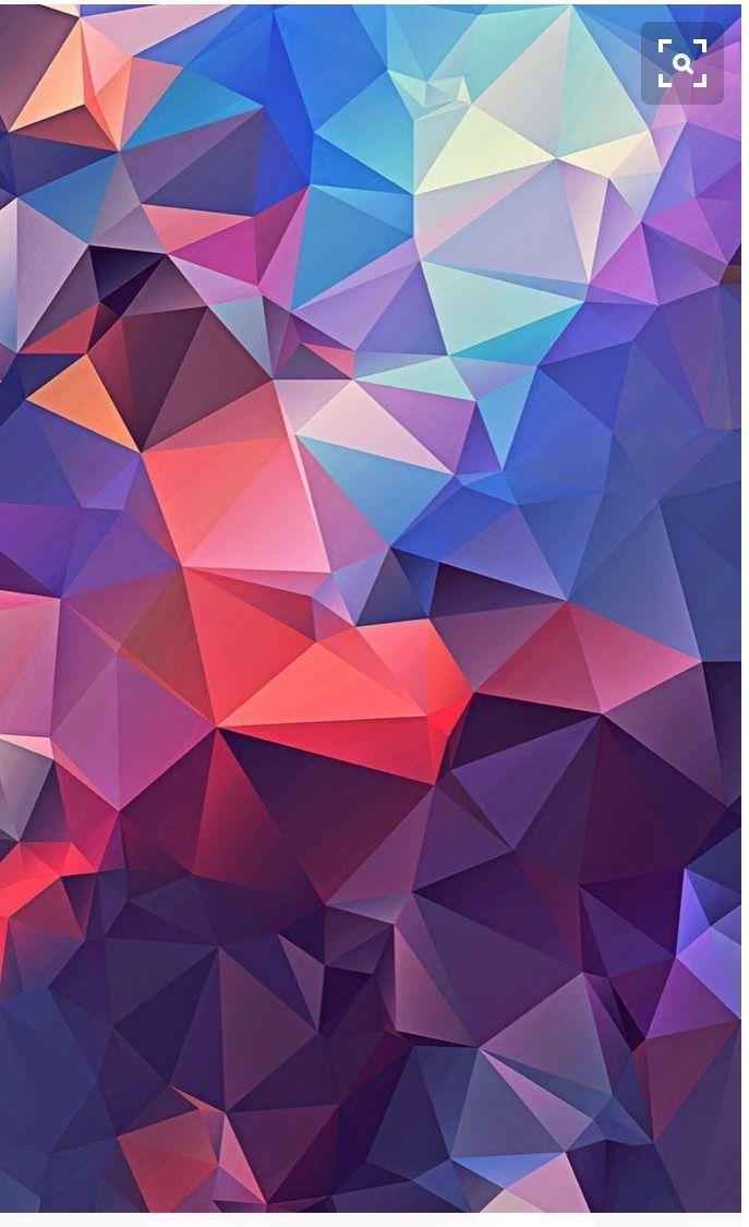Best Wallpapers Image By Ayush Patnaik Polygon Art Colorful