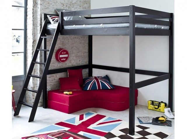 Функциональная кровать-чердак 50 фото (37)