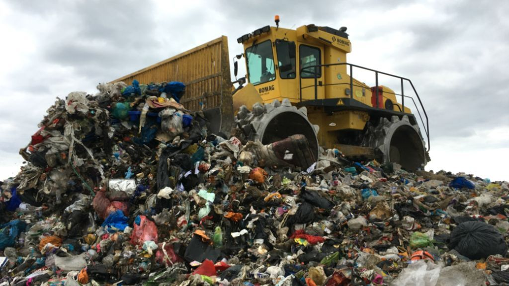 Is it safe to live on a former landfill site? Landfill