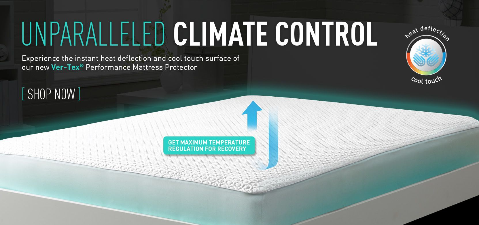 experience unparalleled climate control in your bed with our ver tex