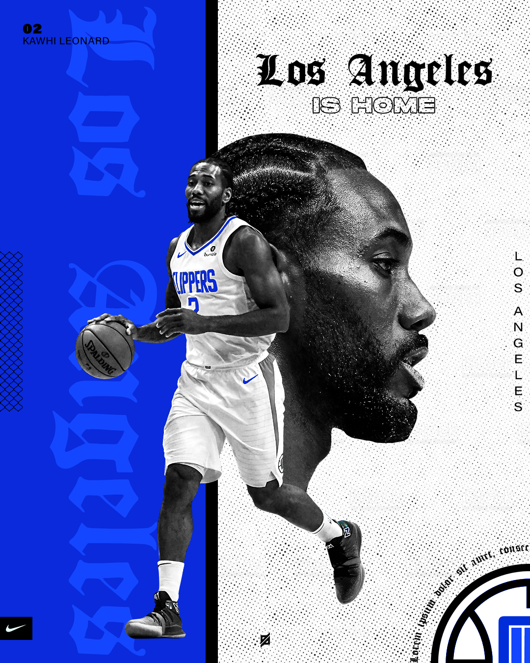 Klaw Nba Art Los Angeles Clippers Mvp Basketball Nba Art