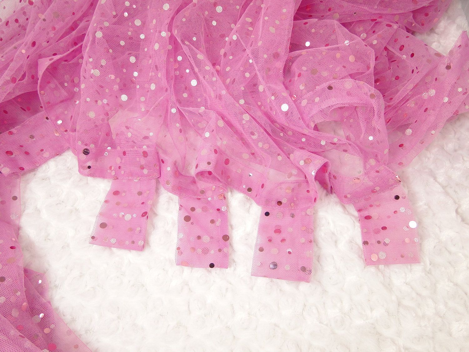 Sheer Pink Sparkle Curtain For Girls Room Sequine Embellished Fabric 84 Inches Long 17 97 Via Etsy Girls Room Curtains Pink Room Pink Sparkle