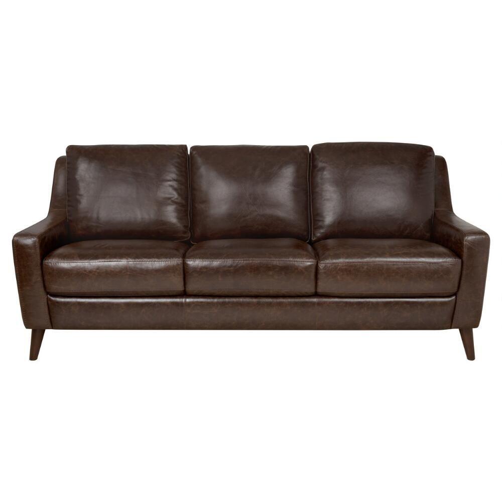 Orson Leather Sofa  Vintage Brown