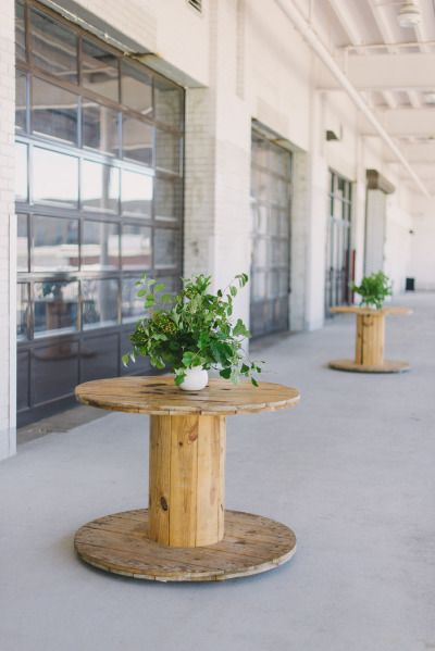 Industrial tables: http://www.stylemepretty.com/living/2015/07/23/industrial-summer-dinner-party/ | Video: Mornings Like These - http://www.morningslikethese.com/