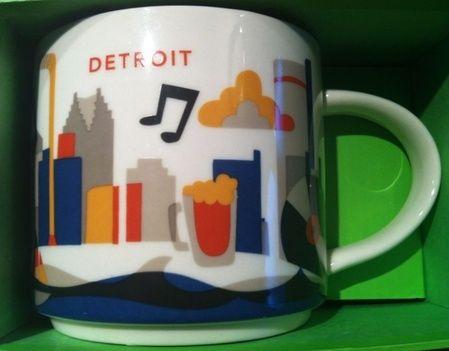 Starbucks In DetroitMichiganYes Mug City Here You Are BoQEedCWrx