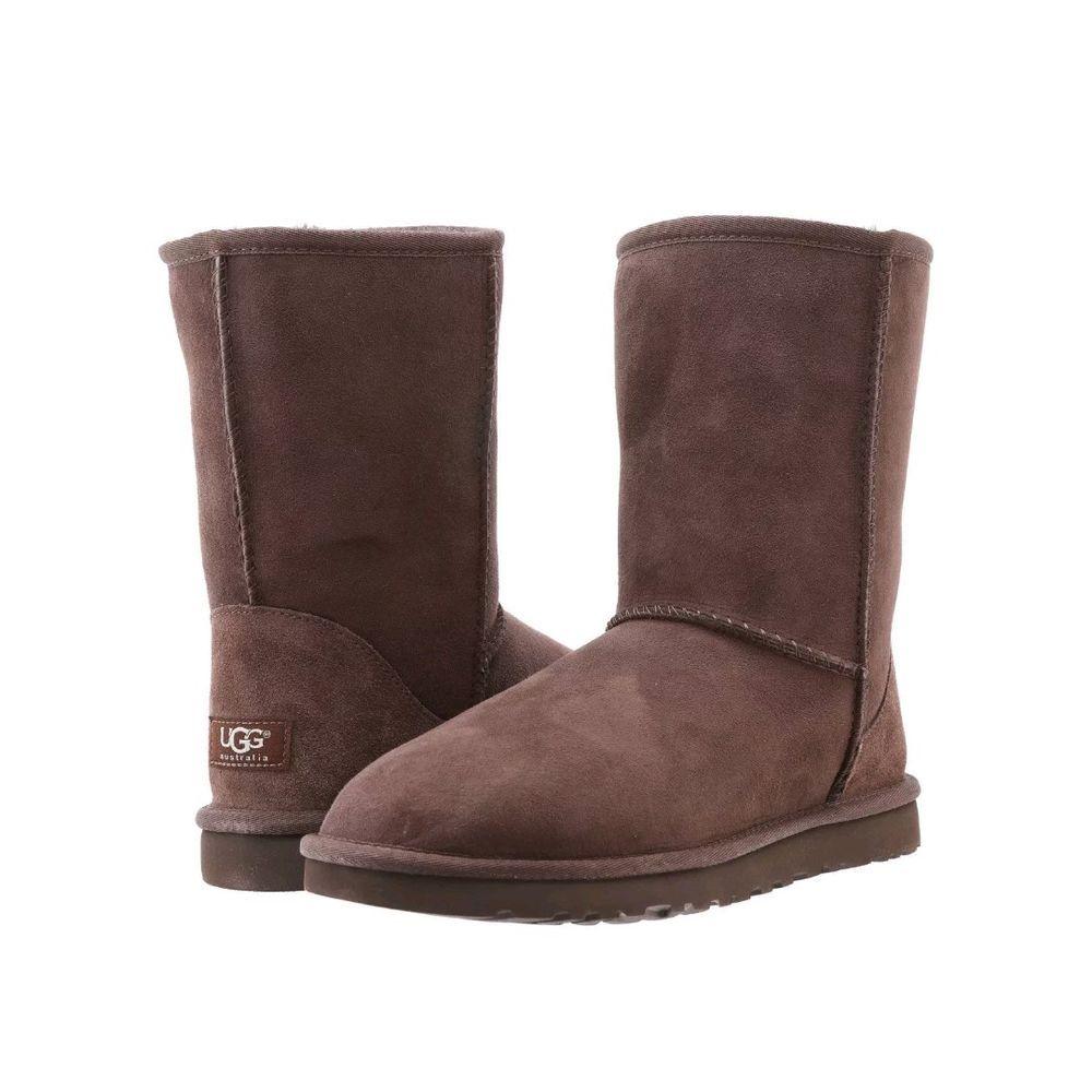8e047aa5cc1 UGG AUSTRALIA Size 11 Classic Short 5825 Womens Chocolate Brown Pull ...