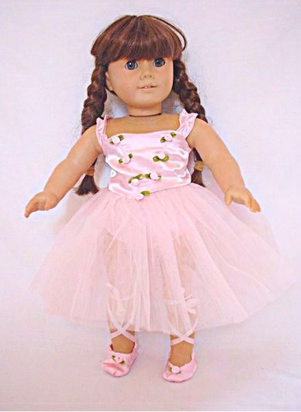 1f6f10f75 Pink Rosebud Ballerina Outfit - clothes for American Girl® and other ...