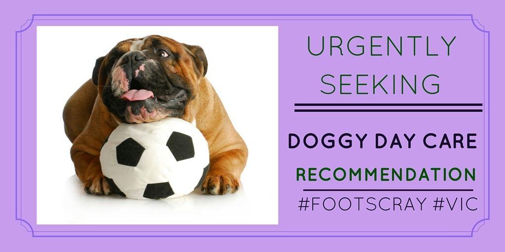 Pet owner seeking #doggydaycare #reviews http://petstayadvisor.com.au/ #FOOTSCRAY #VIC