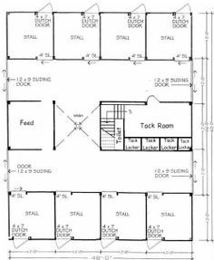 great barn layout - Horse Barn Design Ideas | Horse Barn Ideas ...