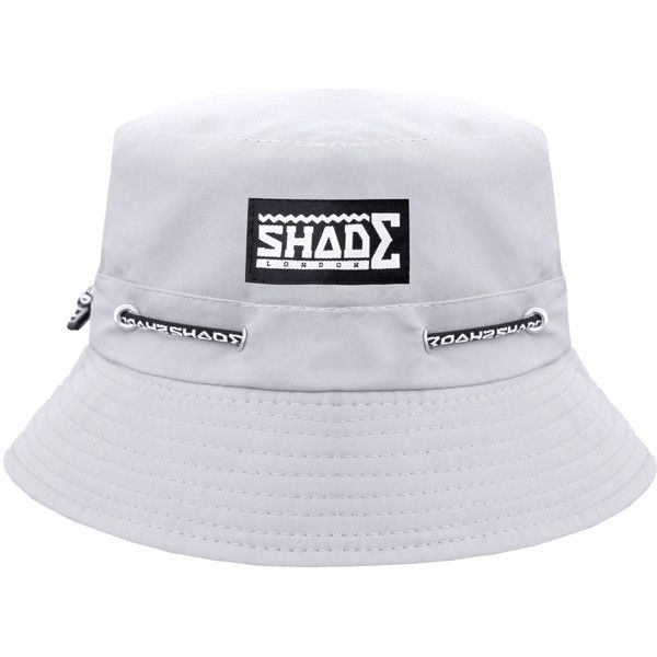 SHADE Bucket Hat Grey SHADE ( 26) ❤ liked on Polyvore featuring  accessories 24dac232721