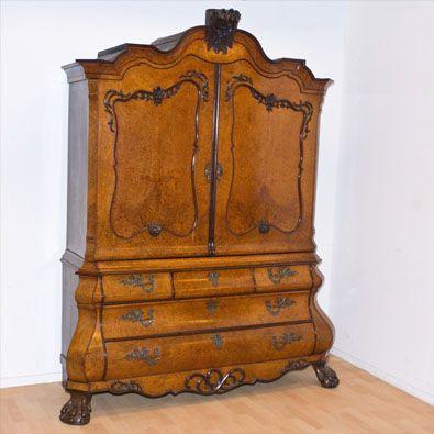 Veilinghuis Antieke Meubelen.Veilinghuis Peerdeman Utrecht Antique Dutch Cabinets In