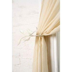 Curtain Rod Holders And Holdbacks Leaf Google Search Curtain