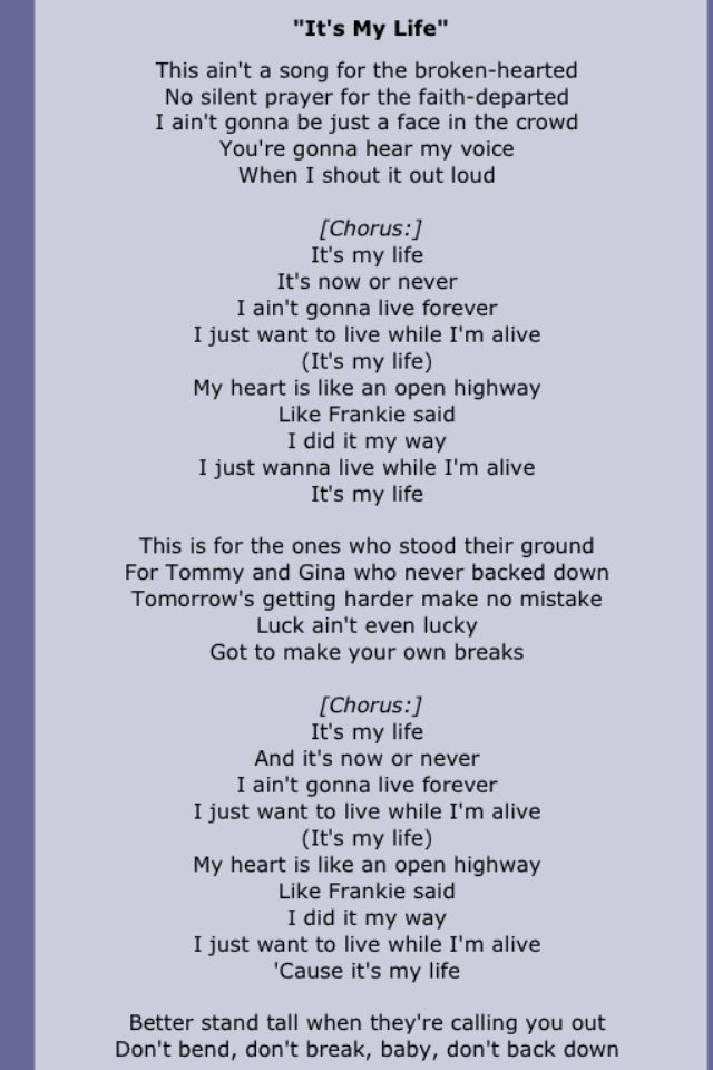 Bon Jovi Great Song Lyrics Music Lyrics Favorite Lyrics