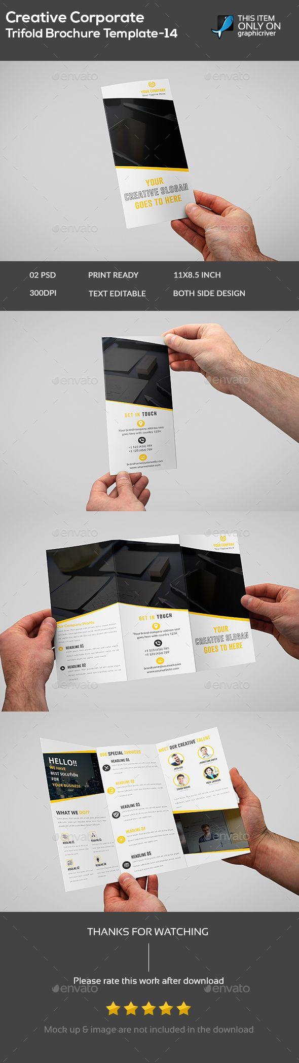 Creative Corporate Brochure Template 14 Brochure