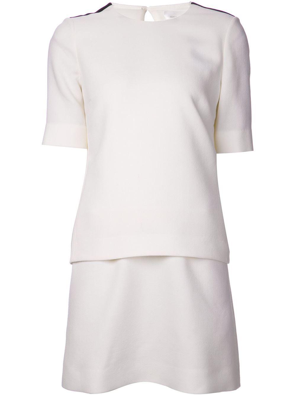 Victoria Victoria Beckham Tux Stripe Dress - Forty Five Ten - Farfetch.com