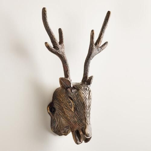One Of My Favorite Discoveries At WorldMarket Wall Mounted Stag Magnificent Decorative Wall Mount Bottle Opener