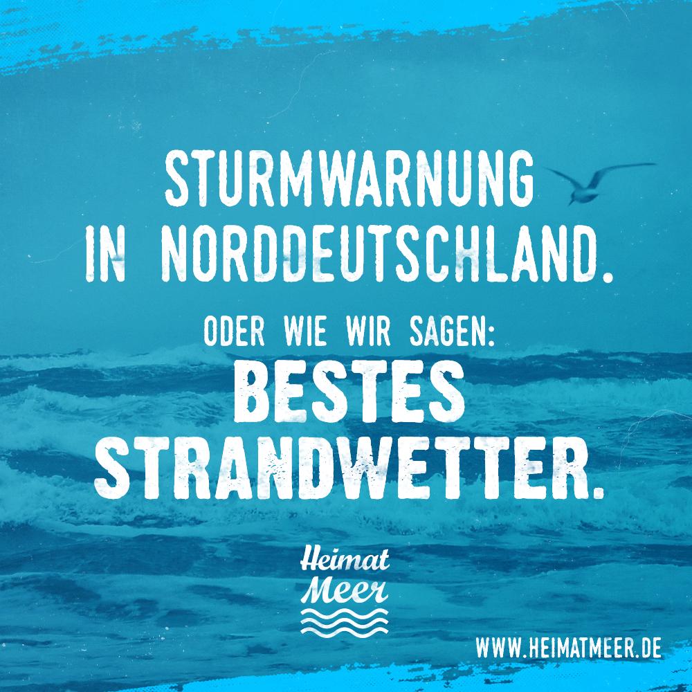 Sturm bestes strandwetter spr che zitate vom meer - Wetterbilder lustig ...