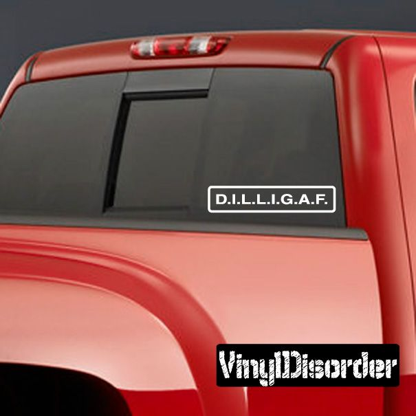 You  Funny Car Truck Suv vinyl sticker decal If You Ain/'t First