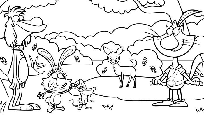 Nature Cat Cat Coloring Page Coloring Pages Cat Birthday Party