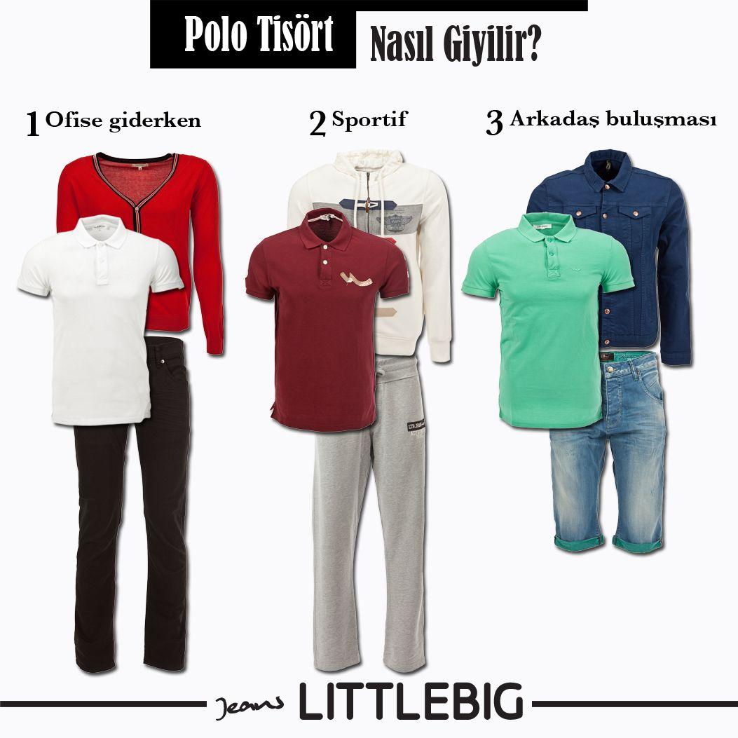 Polo yaka tişört nasıl kombinlenir