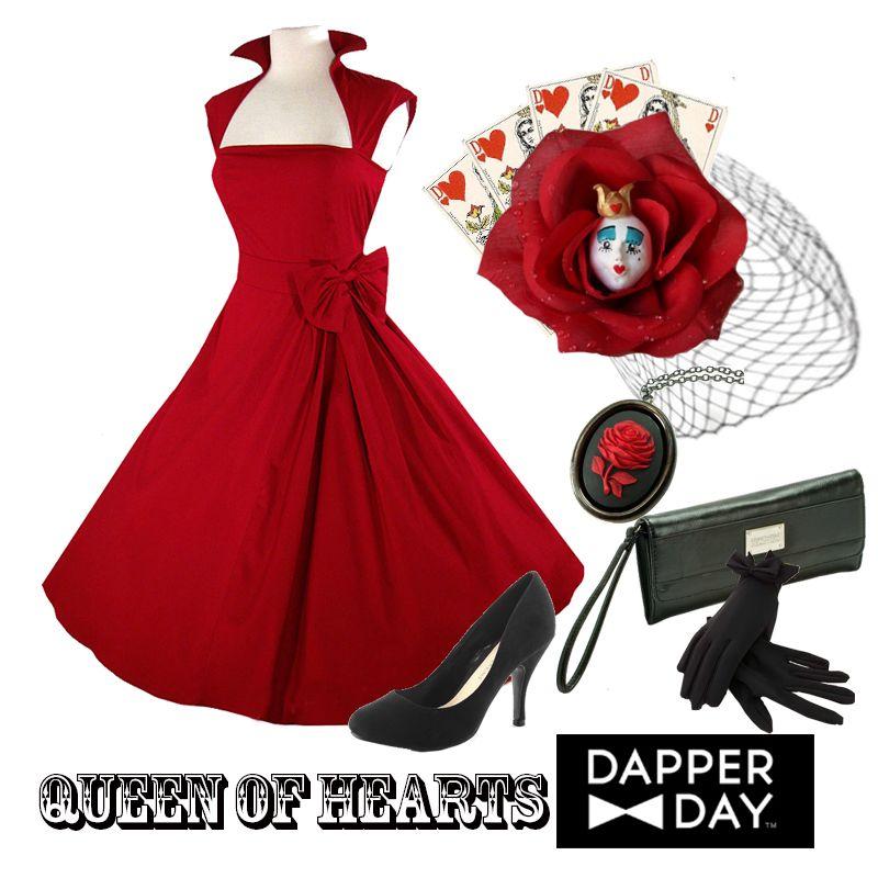 Queen of Hearts for Dapper Day Dapper Day IdeasQueen Of Hearts Disneybound