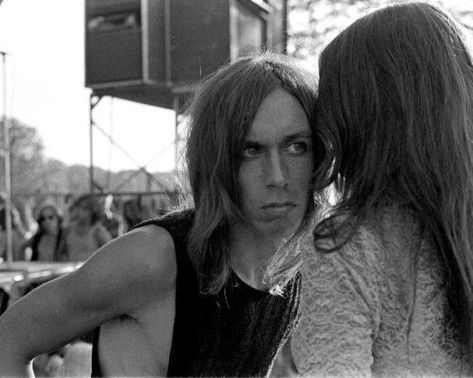 iggy pop and friend #leni_sinclair