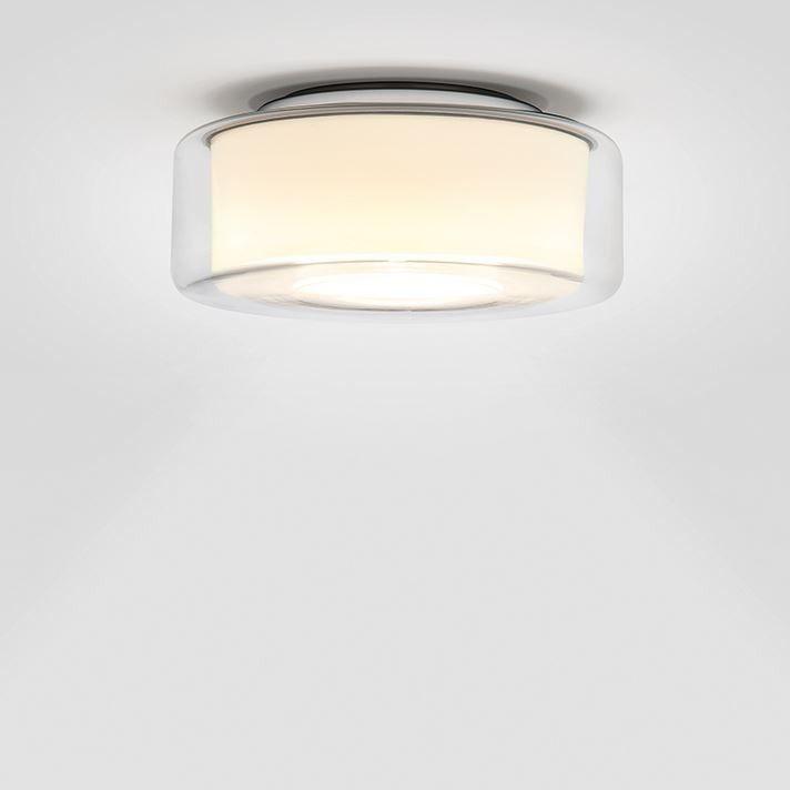 Serien Lighting Curling Ceiling Led Klar Zylindrisch Opal Beleuchtung Decke Deckenlampe Design Leuchten