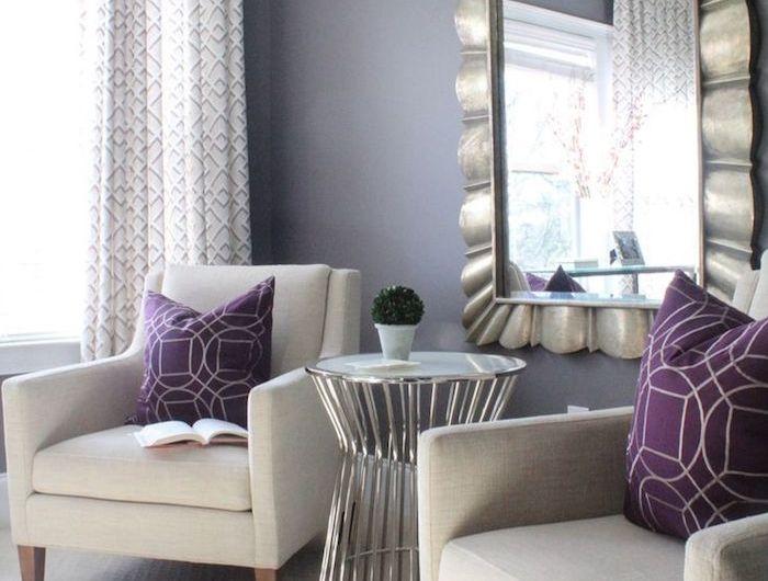 quelle couleur associer au gris perle 55 id es pour vous guider d co maison pinterest. Black Bedroom Furniture Sets. Home Design Ideas
